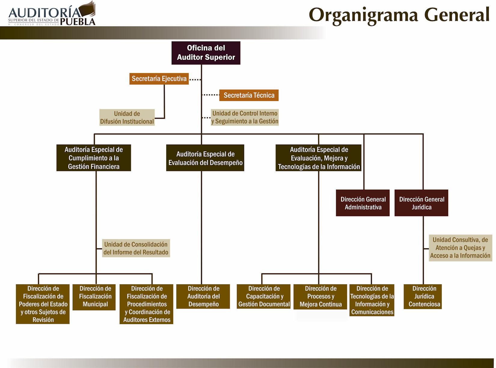 2 estructura org nica for Estructura organica del ministerio del interior